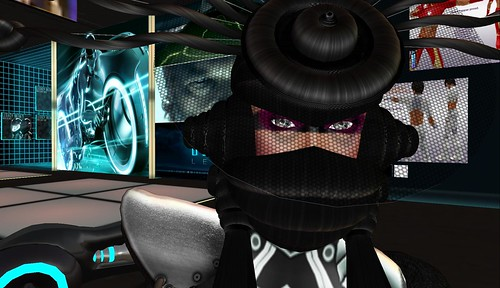 raftwet jewell as cyber influenced by tron