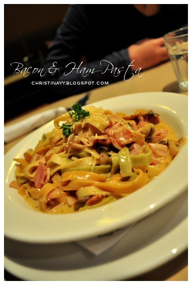 The Coffee Club: Spicy Bacon & Garlic Fettuccine