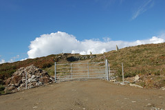 Gate to New Dwellings (Resident111) Tags: capeclear oilenchlire