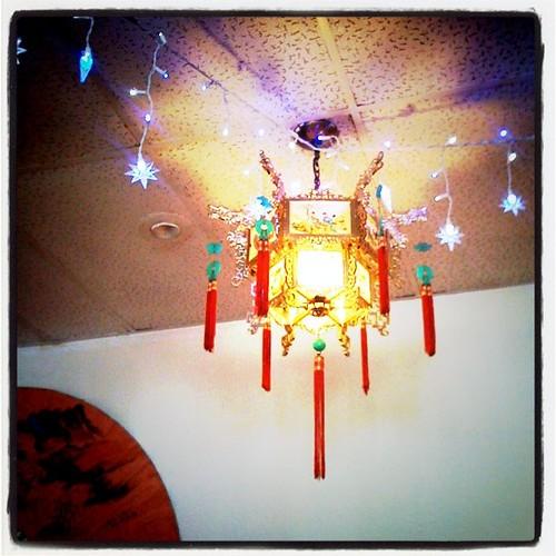 lights and lantern