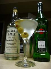 Martini - Catoctin Creek Watershed Gin (_BuBBy_) Tags: christmas creek martini craft watershed booze local organic gin catoctin 2010
