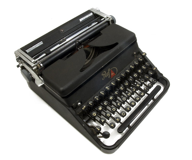 Ruf typewriter