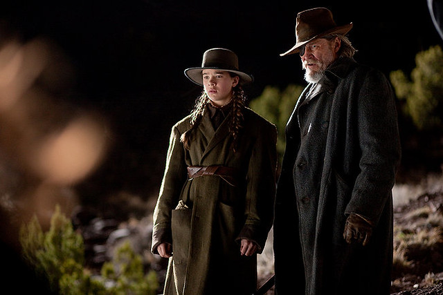 Hailee Steinfeld and Jeff Bridges display 'True Grit' in the latest Coen Brothers movie..