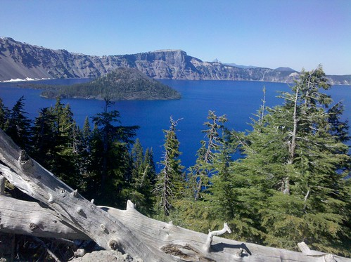 Crater Lake as seen from Rim Village Historic District