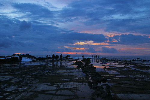 Sunset catchers - Sawarna Beach