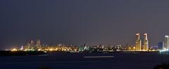 """""""Rosario de noche, desde la distancia (1)"""" (Marcelo Savoini) Tags: city argentina night noche nikon ciudad rosario distance far lejos distancia 70300mmvr d7000"""
