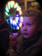 spinner we bought at Peppa Pig's Party