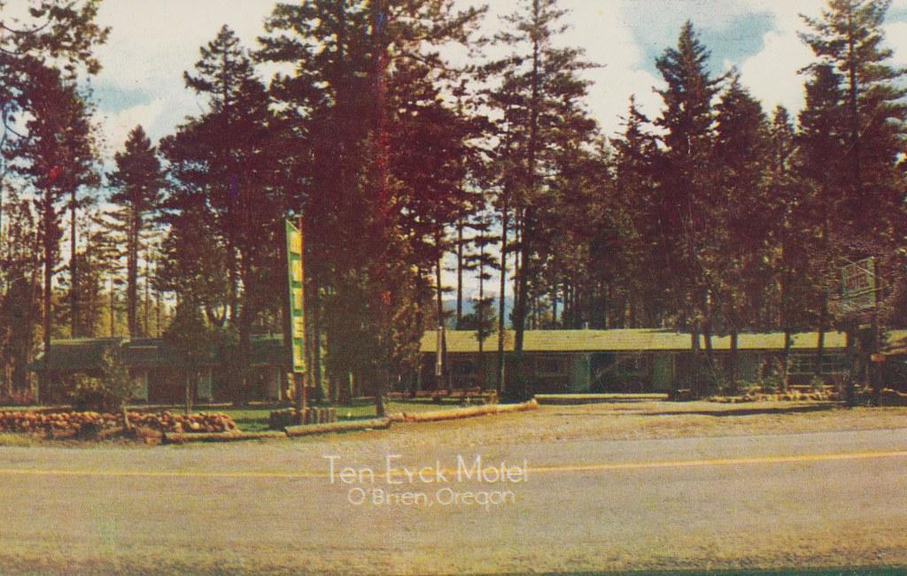 Ten Eyck Motel - O'Brien, Oregon