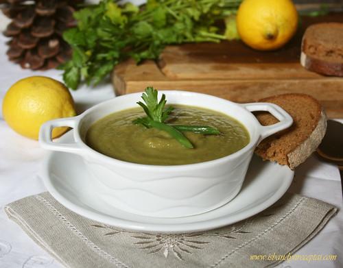 Ankštinių pupelių sriuba