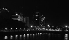 Rio (Lara Lew) Tags: street city building night lights luces noche calle edificios buenosaires downtown centro ciudad nocturna
