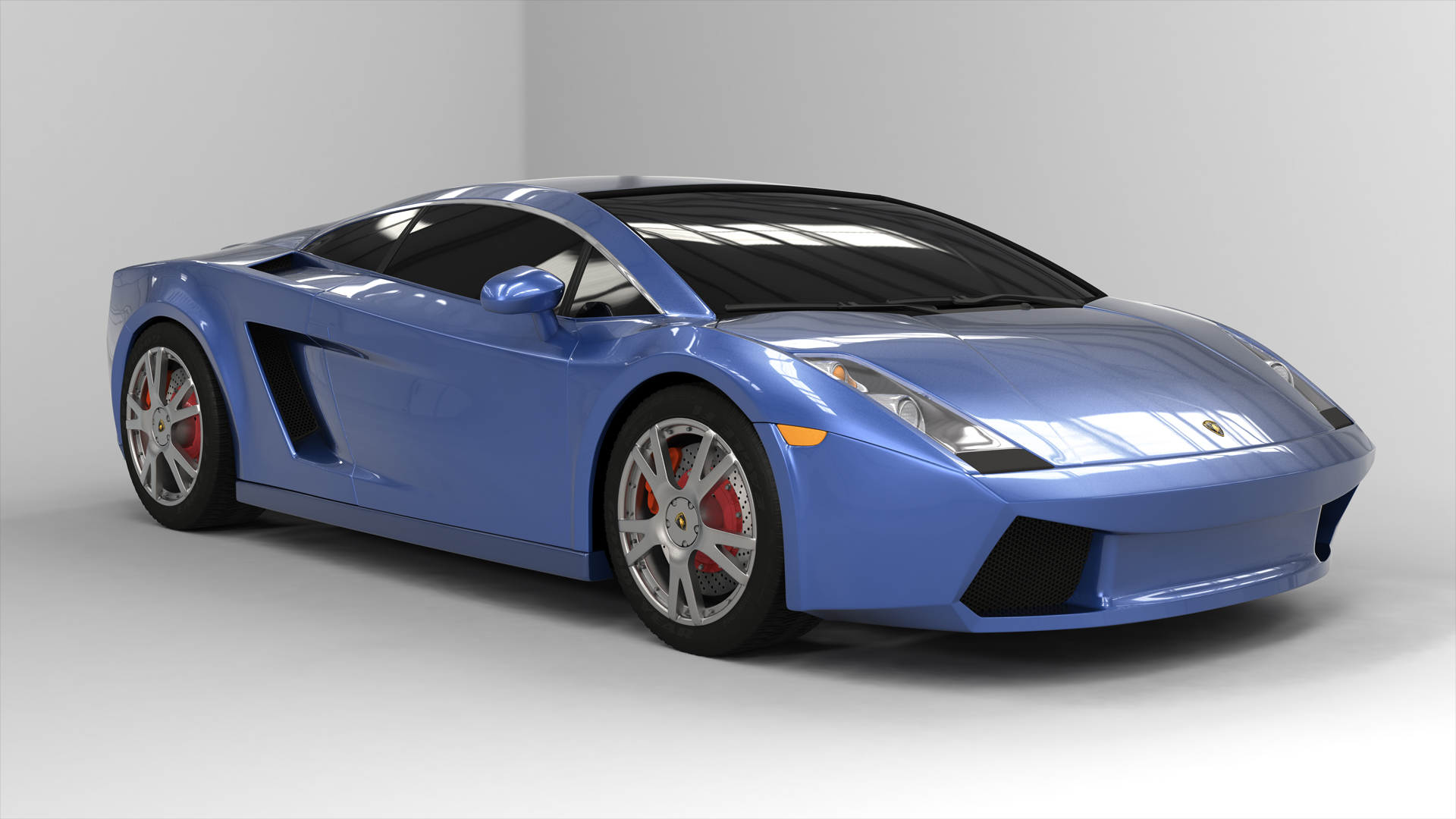 Lamborghini gallardo foundry community the modeling was done in both maya and modo while the texturing and render is pure modo this took about 3 weeks to complete malvernweather Image collections