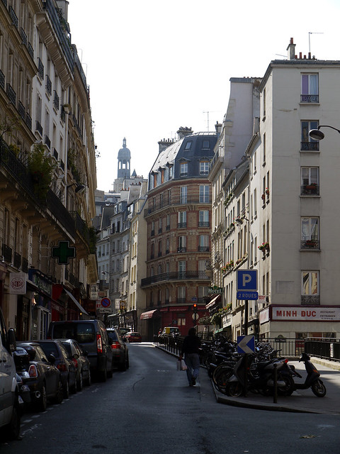 Latin Quarter Paris, France