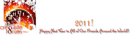 Cre8asite New Years Logo