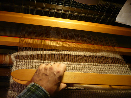Weaving Roving Rug