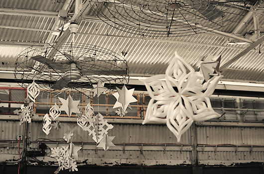 Snowflakes, Chelsea Market