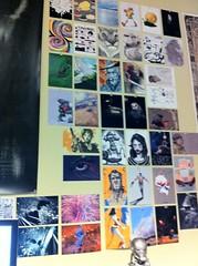 Sketch Club wall 1