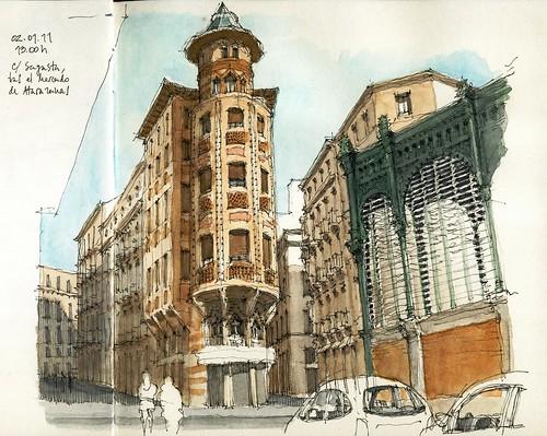 Málaga, calle Sagasta