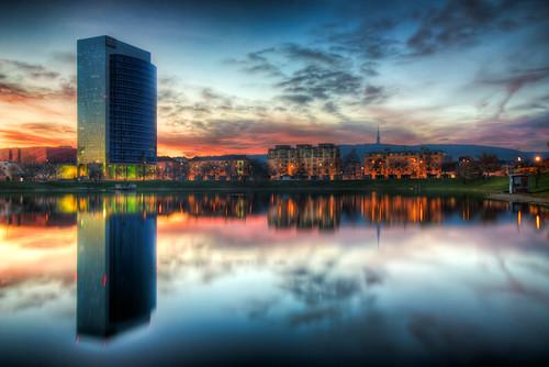 Millennium Tower 2 reflection