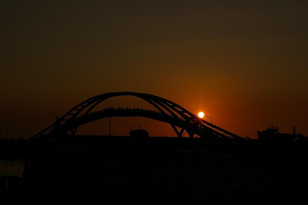 永安漁港日落