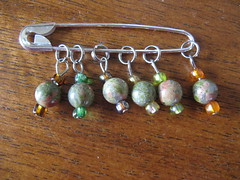 Stitch markers from Lorri