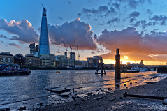 The Shard / spring sunset / London / 2012 (zzapback) Tags: city uk bridge blue sunset red england urban west reflection london thames architecture skyscraper river de photography big zonsondergang rotterdam fotografie britain path united capital great sigma kingdom rob gb shard 1224mm southwark stad architectuur dg engeland londen reflectie rivier voogd wolkenkrabber hsm hoofdstad koninkrijk verenigd d700 theshard zzapbacknl robdevoogd enjoyyourdaystayawake