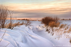 Serenity (James Neeley) Tags: winter snow rural sunrise landscape peace idaho serenity hdr 5xp jamesneeley exposurefusion flickr18
