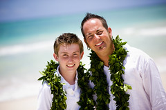 Father and Son (Hawaii or Bust) Tags: wedding portrait usa color love beach hawaii marriage honolulu kailua