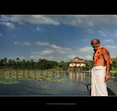 Left God alone (Manoj Aswathi's Travel& Photography.) Tags: travel flowers people india man tourism water pool temple boat lotus culture journey ritual karnataka jain bahubali karkala jainism karnatakatourism varanga aswathi233 mtv233 templeinwater jainbasathi jainculture theerthangarans varangabasathi
