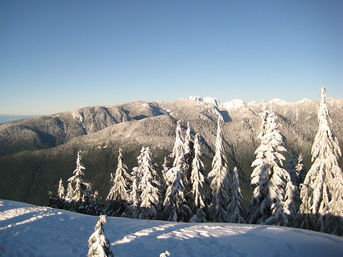 View north from Mt. Seymour