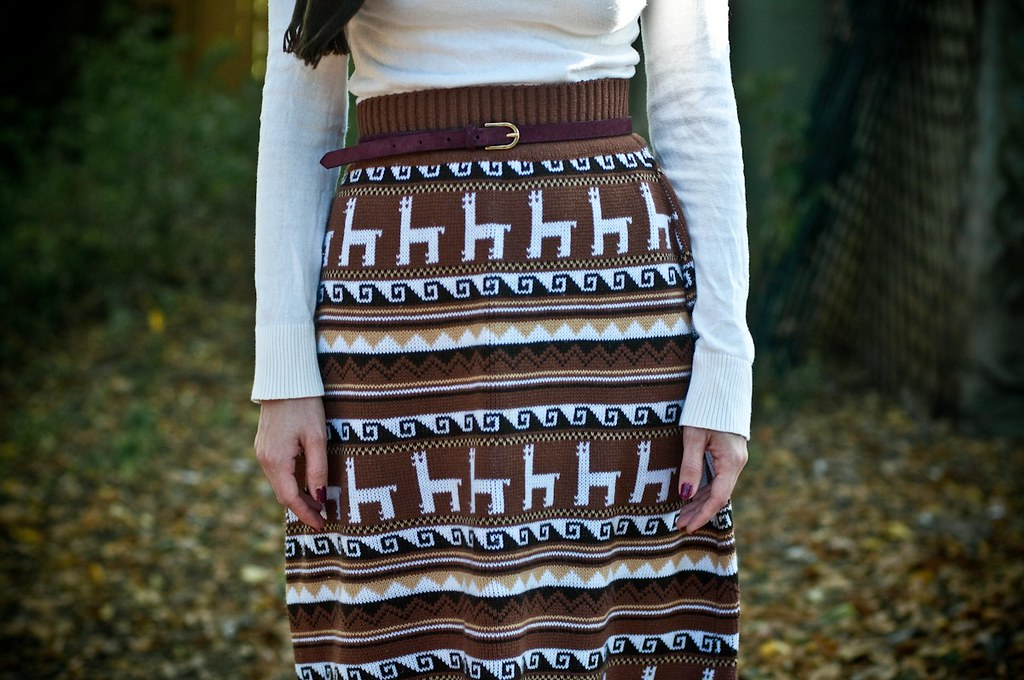 Sewing Project A Simple Knitted Skirt Lauren Winter