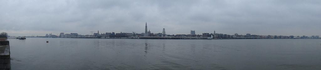 Skyline of Antwerp