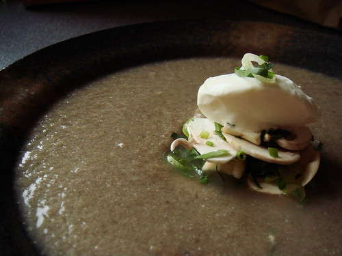 Paris Mushroom Soup: Ladled And Plated