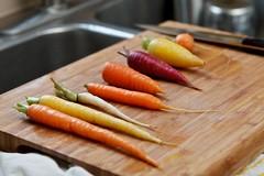 Taste Testing Carrots