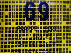 Chteau Cyborg 69 - Popism (Gabri Le Cabri) Tags: door paris yellow shop fotolog plastic works series cyborg 69 chteau 75010 paris10 popism managingdirector directeurgnral frapperfort knockhard