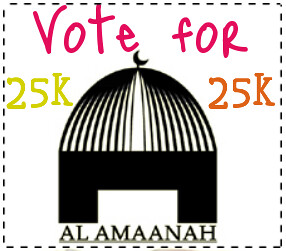 VOTE FOR AL AMAANAHA