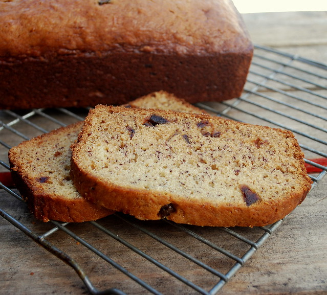 Banana & Date Bread 1