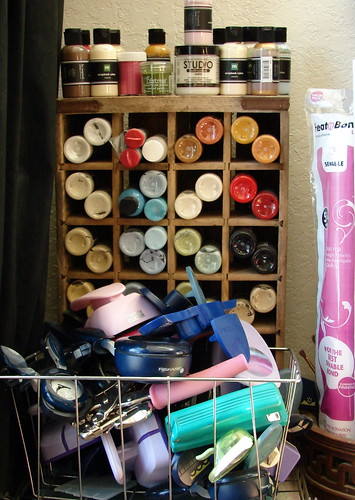 Punch and Paint Storage