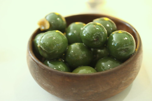 Complementary Olives