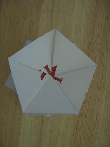 Origami #5: Pentagons