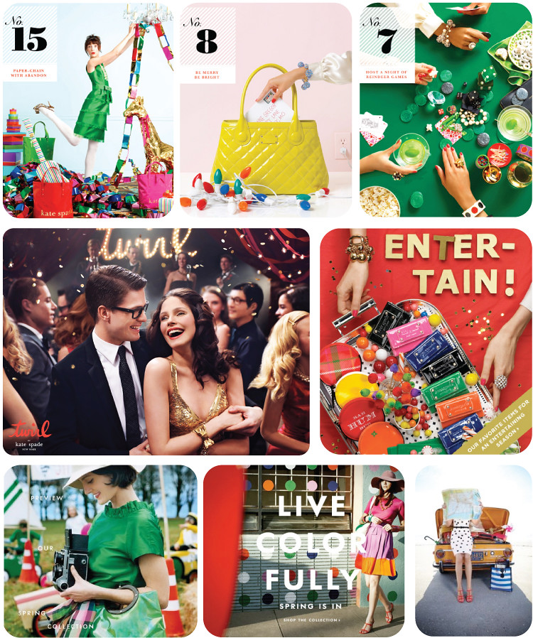 Kate Spade Campaigns
