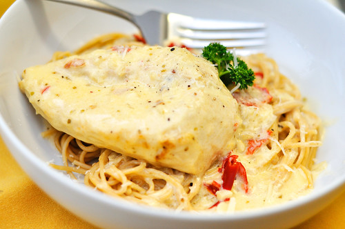 Chicken in Champagne Cream Sauce