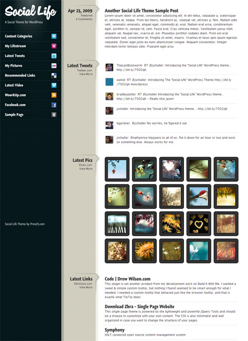 social-life-wordpress-theme