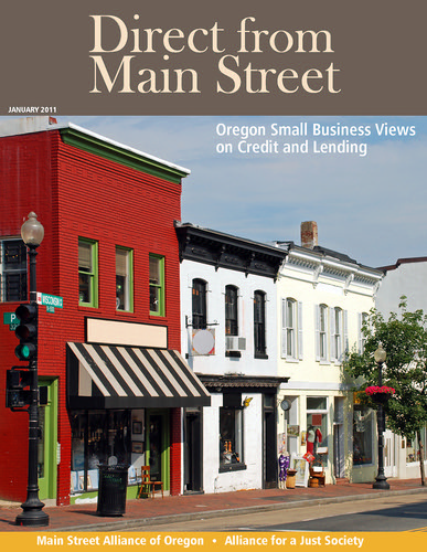 Direct from Main Street: Oregon Small Business Views on Credit and Lending