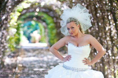 Bridal Styles real bride Julie