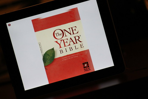 One Year Bible on iPad