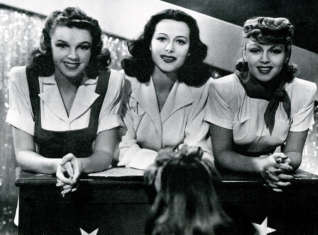 Judy Garland, Hedy Lamarr and Lana Turner