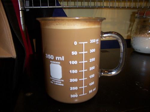 Espresso with a bit of milk