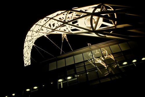 L'arco dello stadio di Wembley