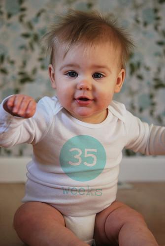 Lilah: 35 weeks old