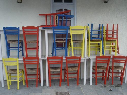 Multi-Color Chairs - Πολύχρωμες καρέκλες